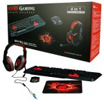 KIT TECLADO MOUSE HEADSET GAMING